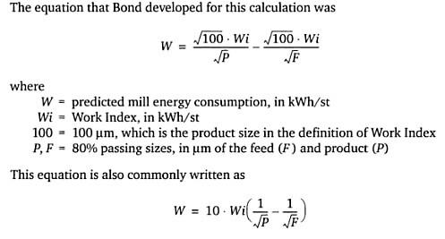 Интерактивный калькулятор расчета производительности мельниц