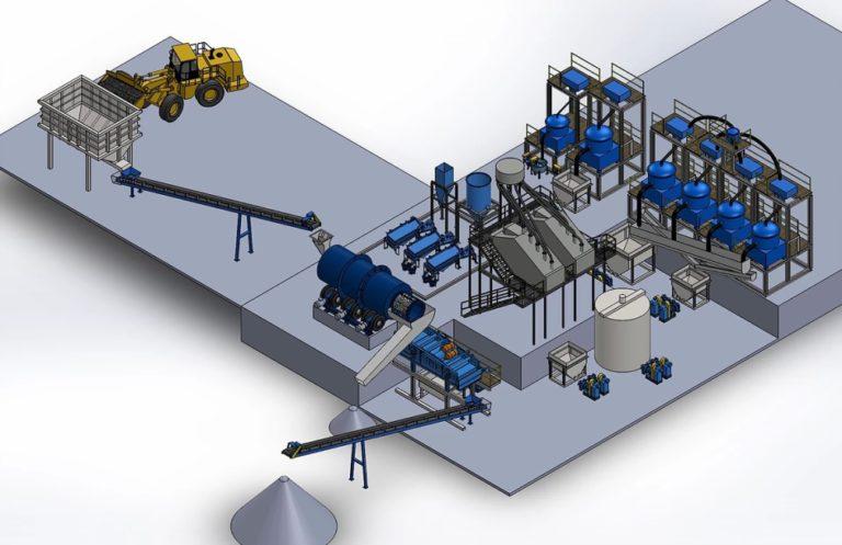Модульная фабрика переработки оловосодержащих хвостов